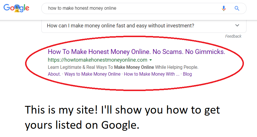 how to get listed on google