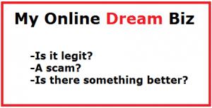my online dream biz review