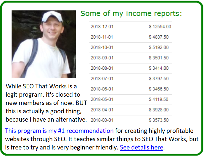 seo that works alternative