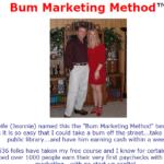 bum marketing method review