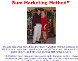 bum marketing review