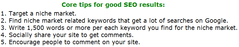 10 Good SEO Tips That Will 100% Propel Your Rankings.