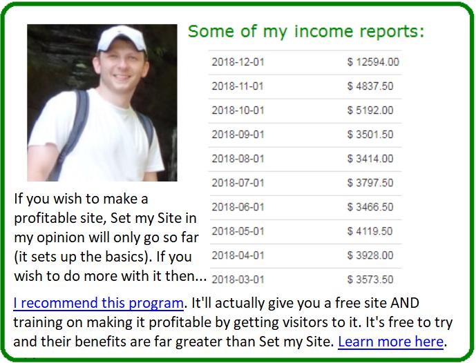 set my site alternative