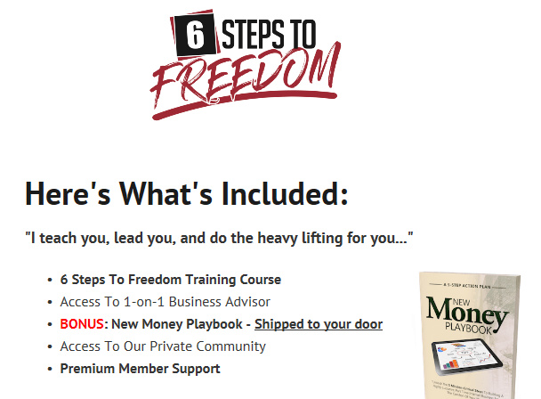 6 steps to freedom review
