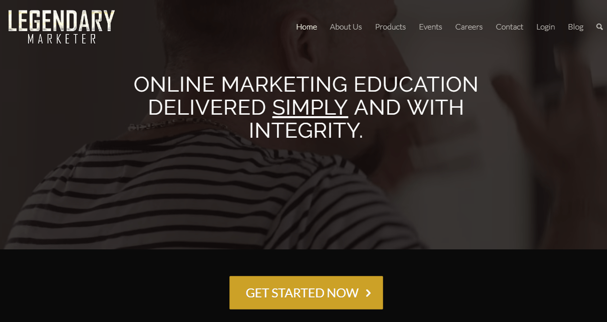 Buy Internet Marketing Program  Legendary Marketer Price Second Hand