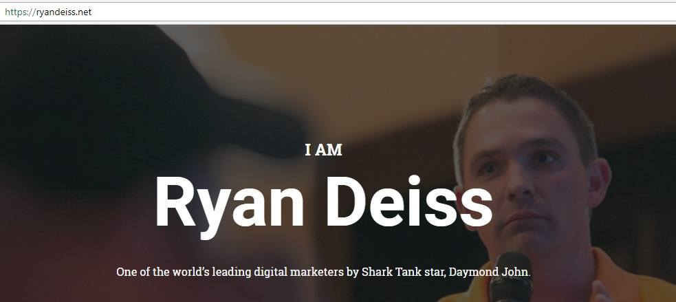 ryan diess internet marketer