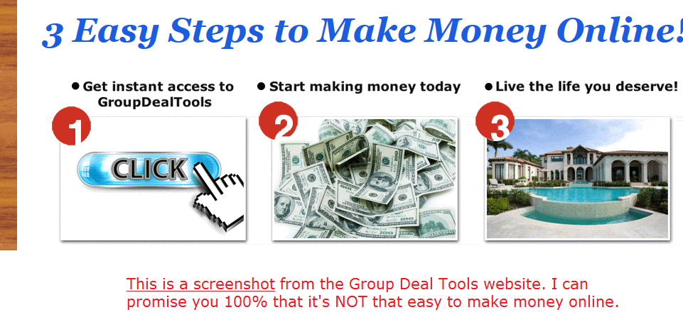how group deal tools works
