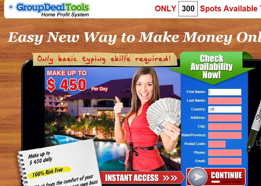 is group deal tools a scam
