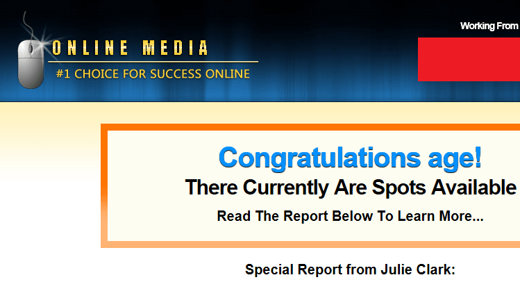 online media scam