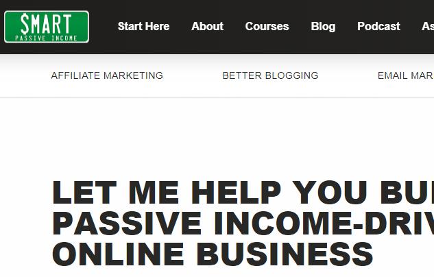 smart passive income screenshot