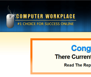 is computer workplace a scam