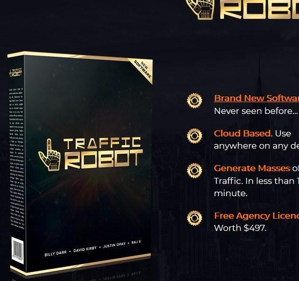 traffic robot review screenshot