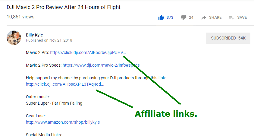 youtube affiliate marketing case study