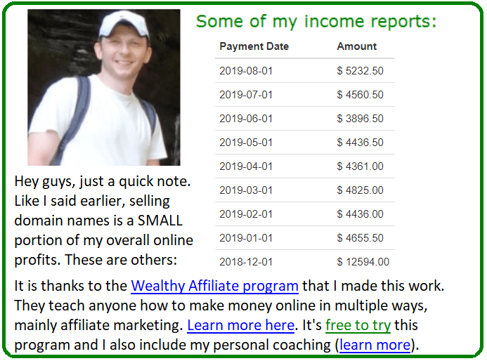 How I Made Over $1,000 Selling Domain Names. Full Tutorial. 3