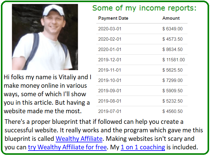 ways to make money online without a website alternative
