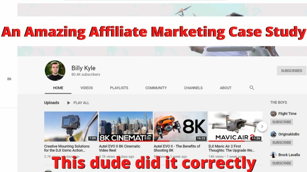 affiliate marketing case study