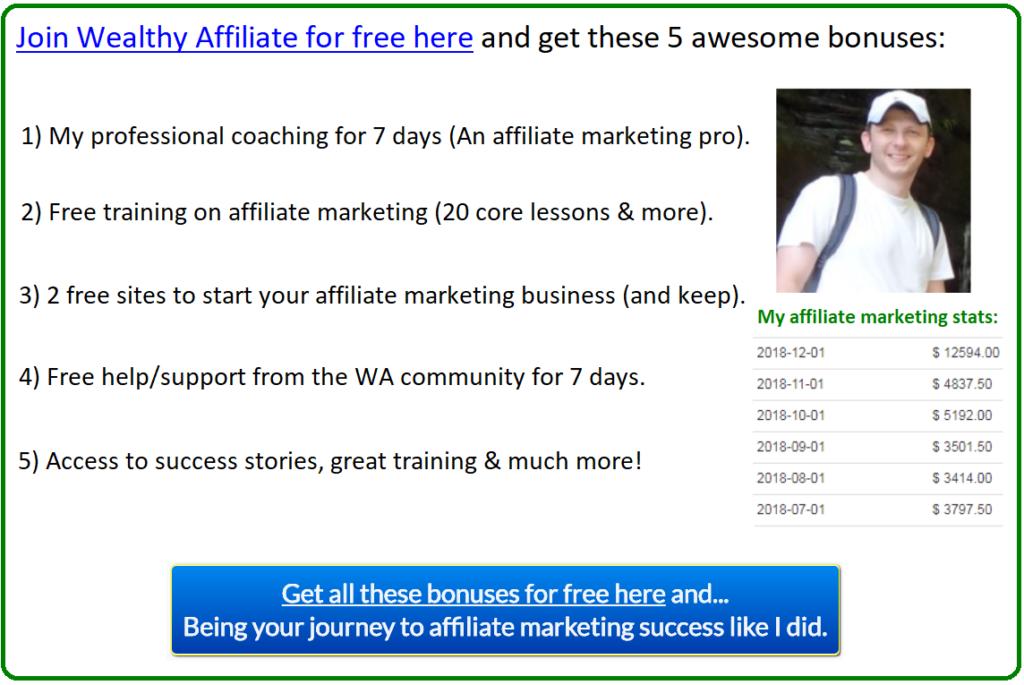 affiliate marketing start