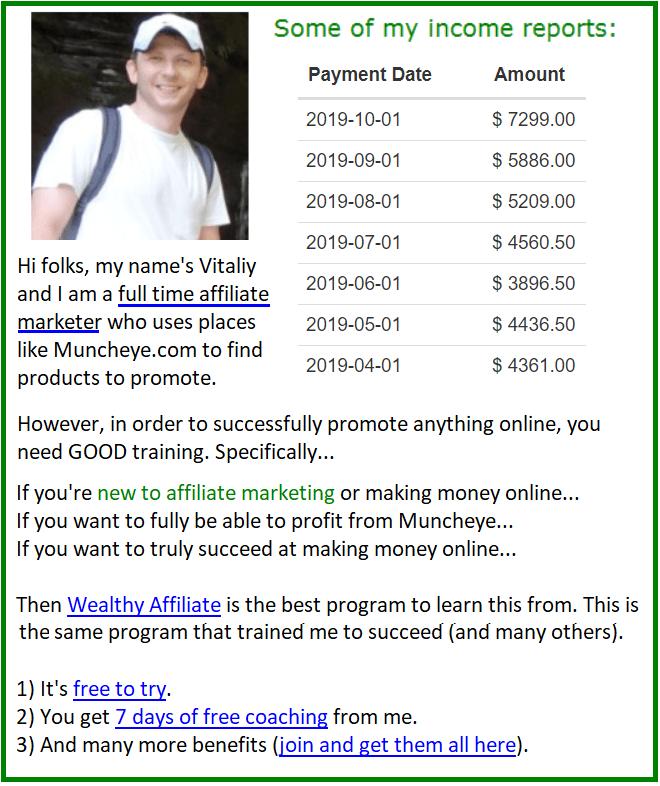 make money with muncheye image