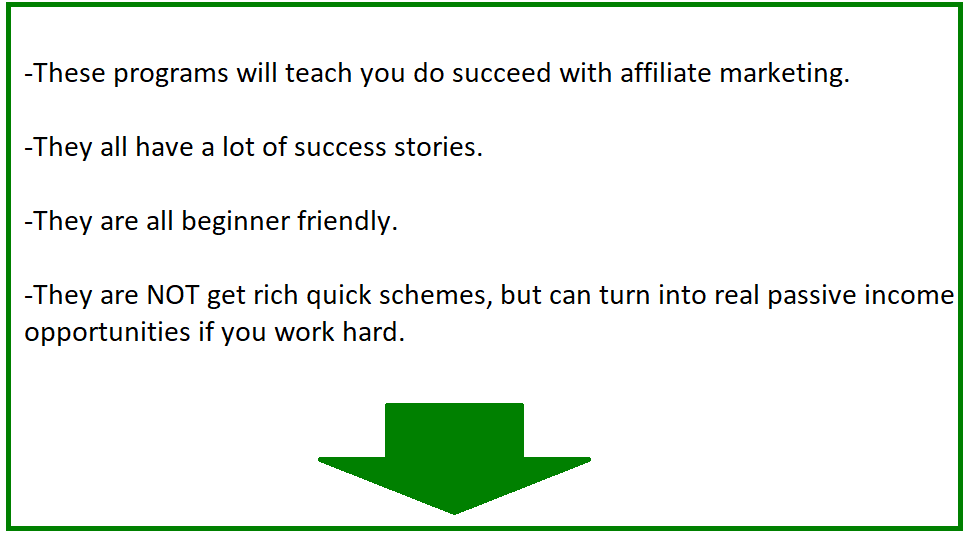 7 legit affiliate marketing programs