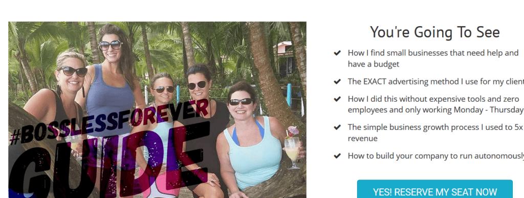 bossless forever website screenshot