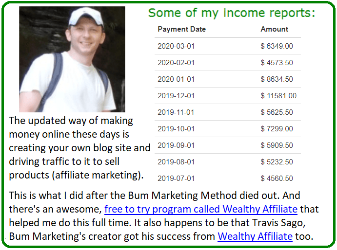 bum marketing method alternative