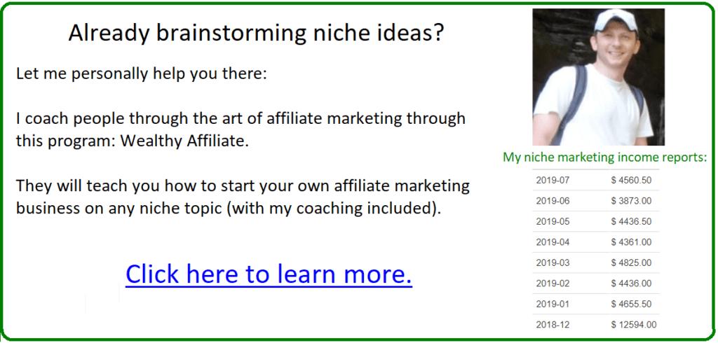 affiliate marketing segway to wa