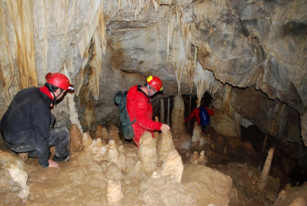 cave exploration niche topic