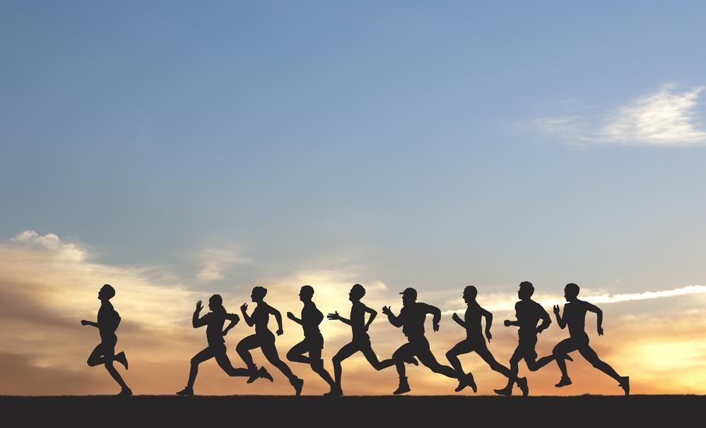 Marathon running niche