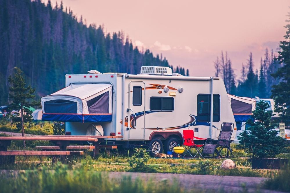 pop up camper photo