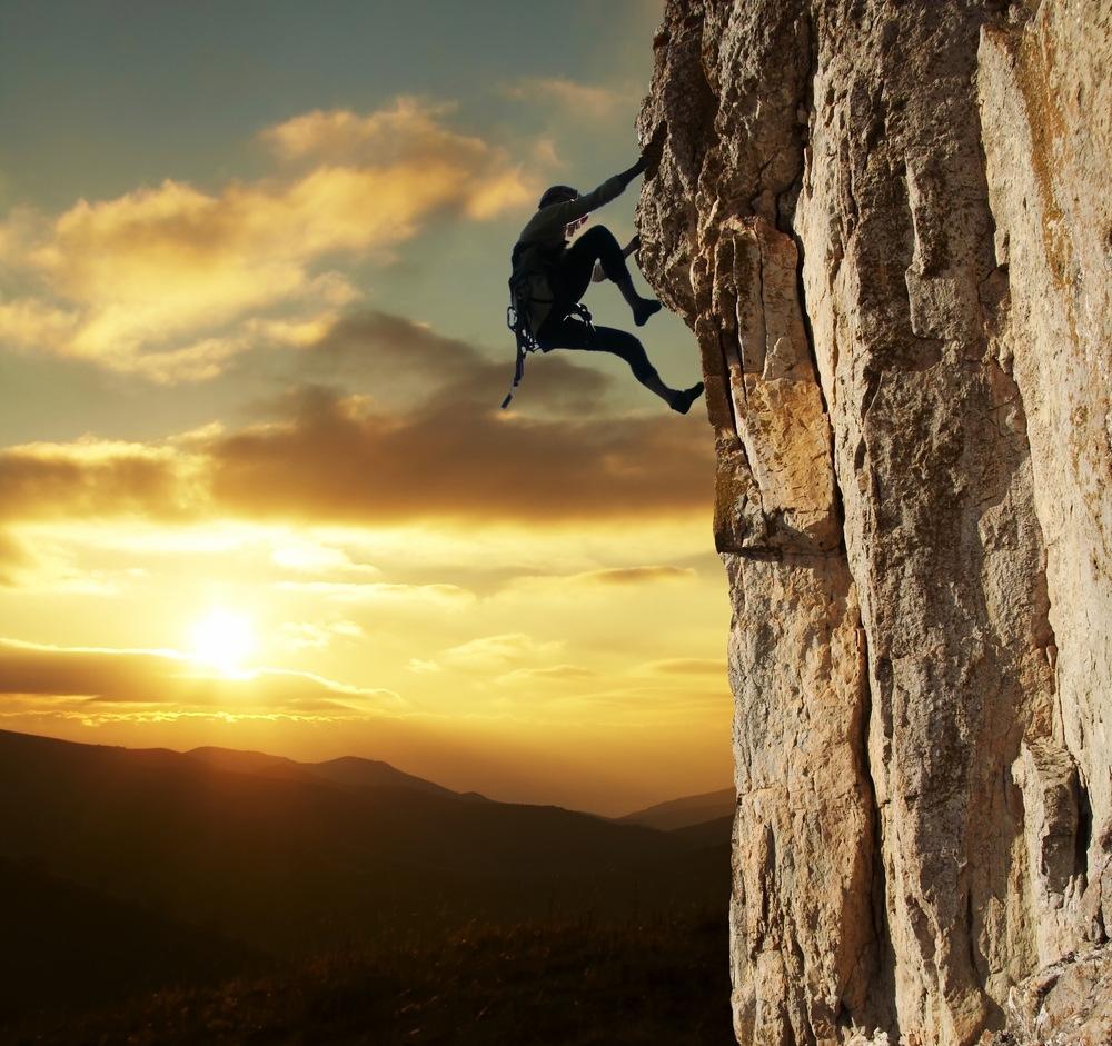 rock climbing niche