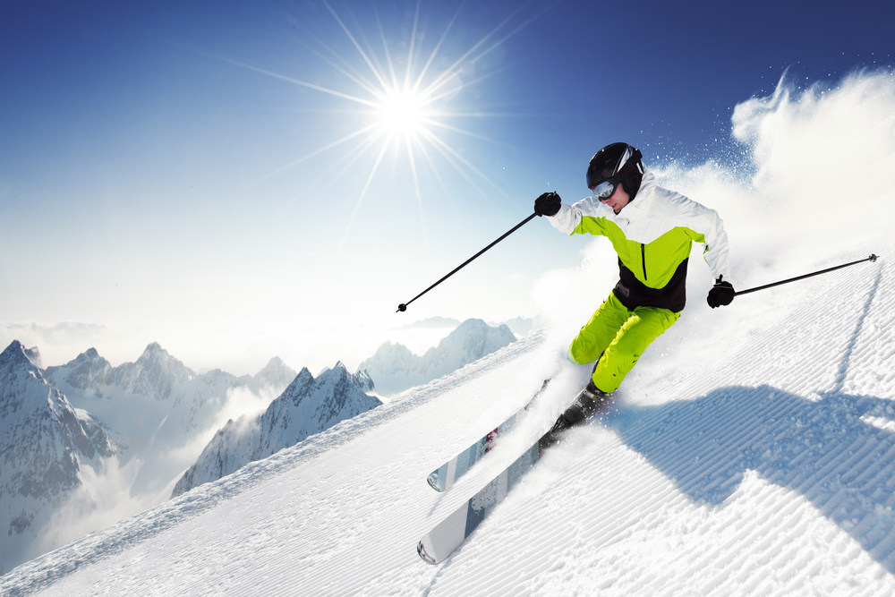 skiing niche photo