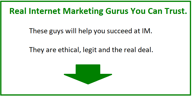 internet marketing gurus list