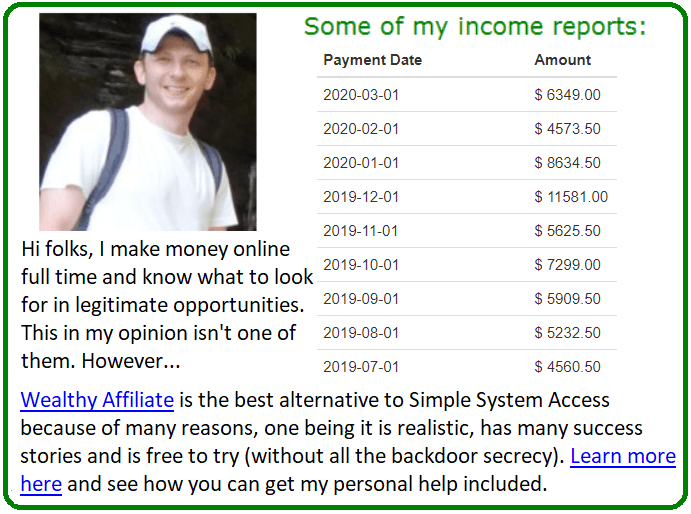 simple system access alternative